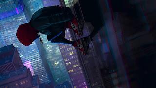 Spider-Man Into The Spider Verse Wii U Wallpaper