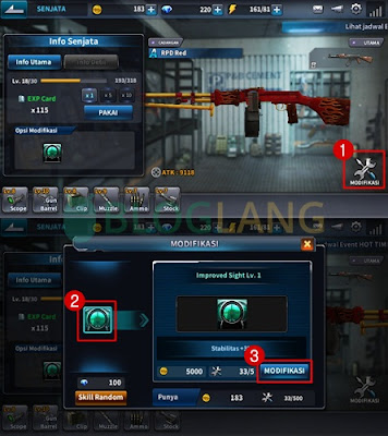modifikasi senjata point blank mobile