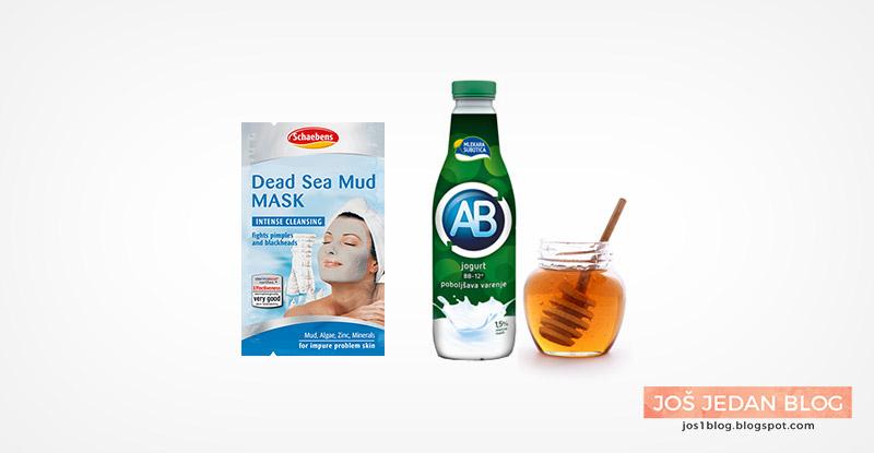 Schaebens Dead Sea Mud Mask maska za blatom mrtvog mora, prirodna maska za lice sa jogurtom i medom, recenzija, utisci
