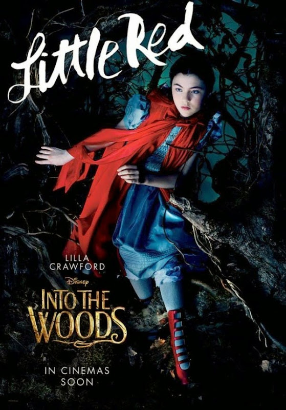 Into the Woods Little Red poster