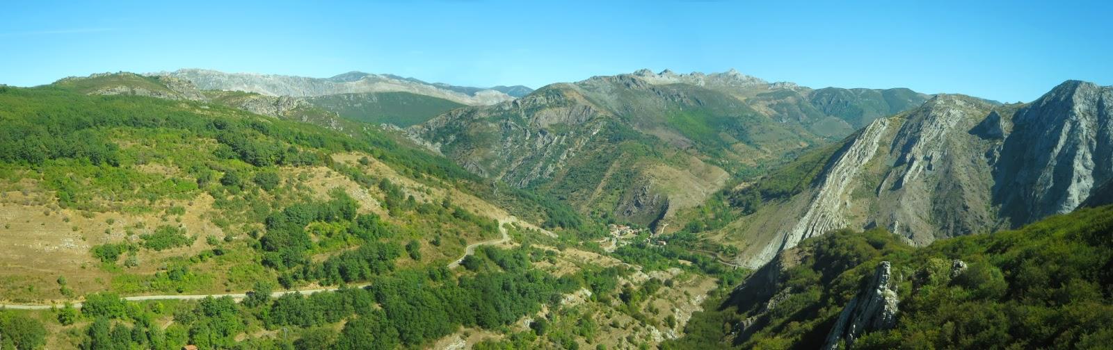 Vistas desde la atalaya de Valporquero de Torío