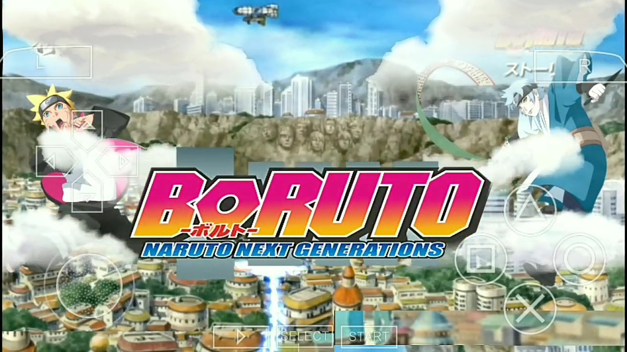 Naruto Ultimate Ninja Impact Mod Boruto ISO PPSSPP