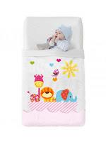 Arca Rosa Vip de Manterol. Manta Baby Cuna - 516