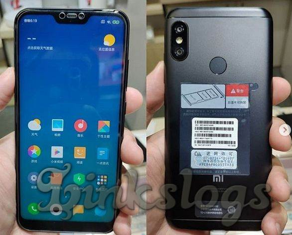 Xiaomi Mi A2 Lite FRONT AND BACK