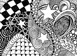 zentangle easy zentangles fun 5th patterns drawing artworks artimus prime relaxing method learn way