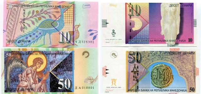 Makedonien bekommt erste Plastik-Banknoten