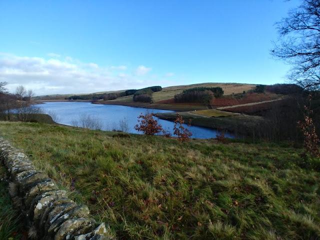 photo of Errwood hall reservoir, Buxton