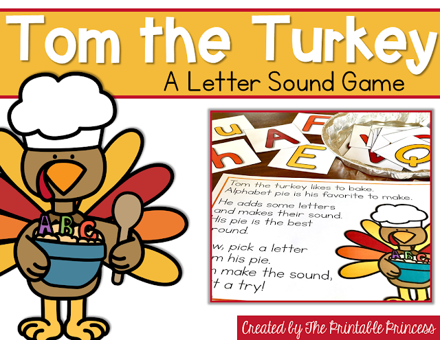 "You're going to love these Kindergarten Thanksgiving activities! Your students will work on sight words, counting, and even create pumpkin pie in a cup! {Grab your FREE recording sheet!!} While these are great for Kinders, your preschool, 1st, and 2nd grade classroom and homeschool students may enjoy these as well! You can use these fun pumpkin activities for math centers, literacy centers, spelling, & more! Plus make sure to check out the ""Tom the Turkey"" poem and activities too!"