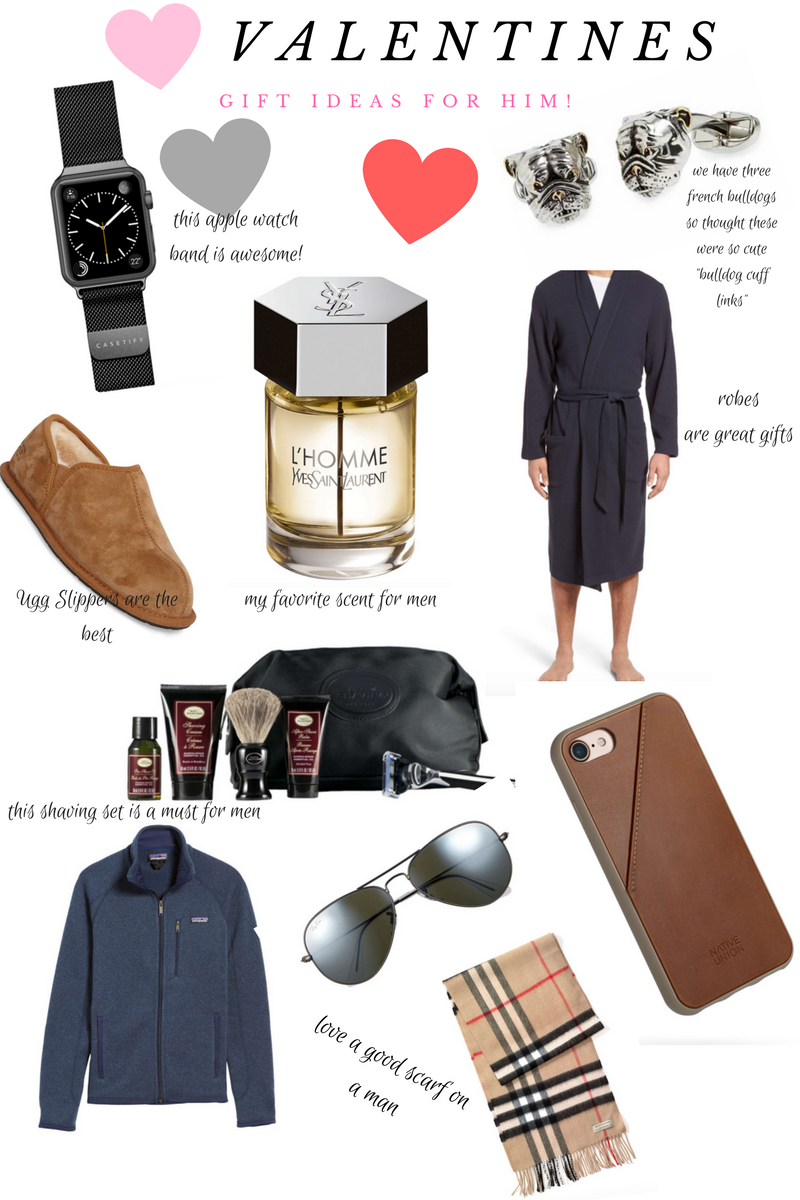 Valentines Day Gifts For Him by popular Denver style blogger Delayna Denaye