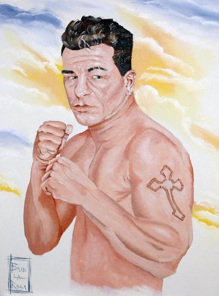 Американский художник-самоучка. Bud LaRosa