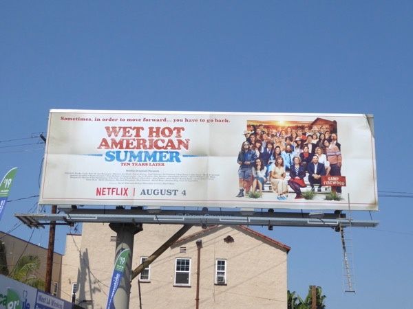 Wet Hot American Summer 10 Years Later billboard
