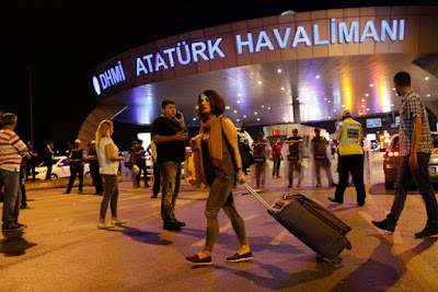 Bandara Udara Ataturk Istambul