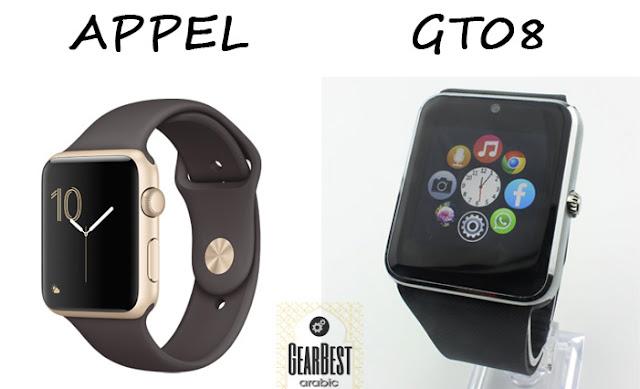 gt08 smartwatch مواصفات