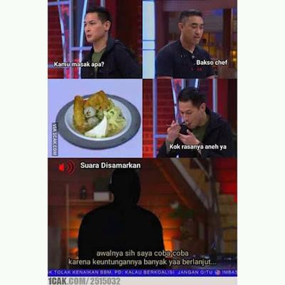 Meme MasterChef Indonesia 2019 - Pedagang Nakal