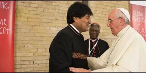 """Francisco: """"reclamar tierra, techo y trabajo no es comunista, es la doctrina social de la iglesia"""""""