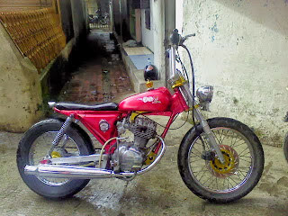 Modifikasi moto honda CB 100 jap style keren terbaru