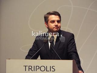 Ο Βουλευτής του Πασοκ στην Αρκαδία Οδυσσέας Κωνσταντινόπουλος