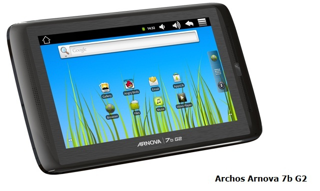 Archos Arnova 7b G2 Tablet Review Test And Review