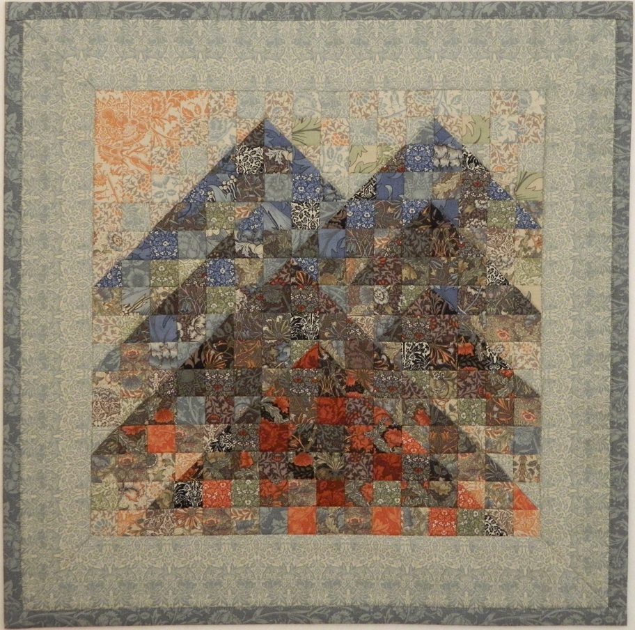 Buzzinbumble Carolina Byways Miniature Quilt With Link