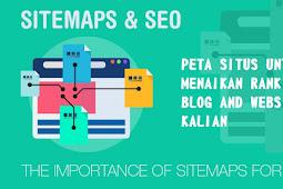 Setting Sitemaps atau Peta Situs Untuk Menaikan Rangking
