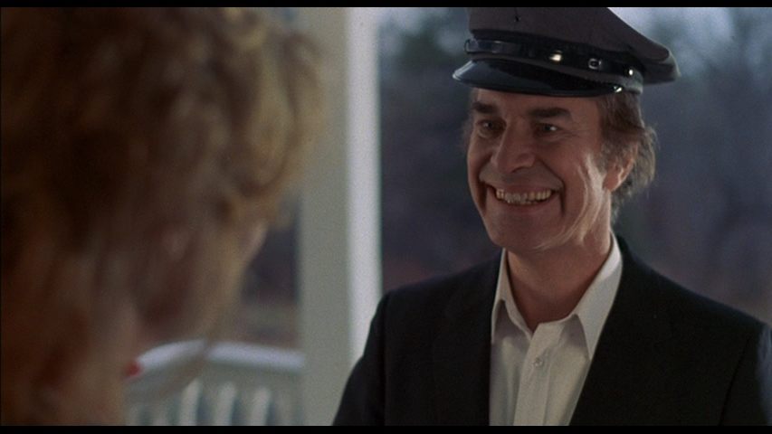 Martin Landau makes a delivery in Alone In The Dark (1982)