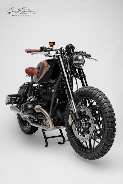 BMW R100R By South Garage Motorcycles Hell Kustom