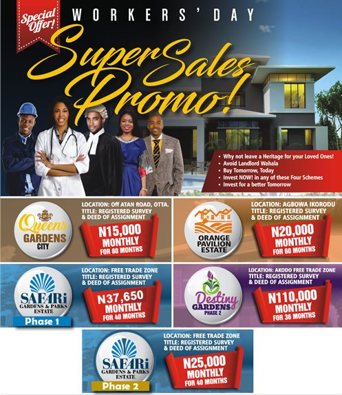 OWN A PLOT FOR AS LOW AS 15,000NAIRA, HURRY NOW!