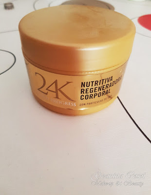 Productos terminados 4  Gold Progress 24 K Crema corporal.