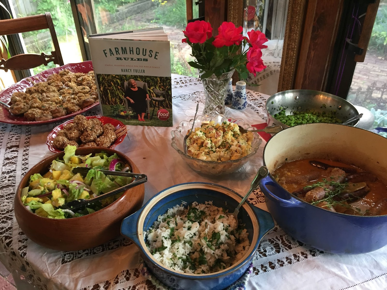 Lines From Linderhof Cookbook Book Club Volume Two Farmhouse Rules