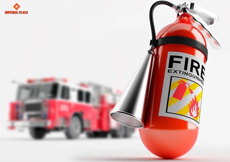 Bình chữa cháy chung cư 360 Giải Phóng