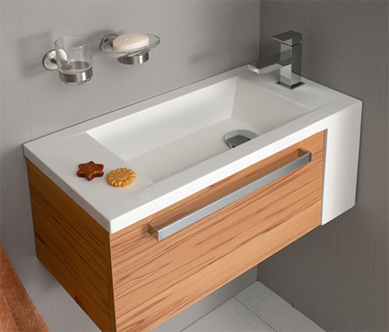 12 Bathroom Corner Sinks For Saving