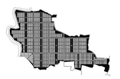 Siteplan Kavling Kebun Buah Lantaburro Tanjungsari