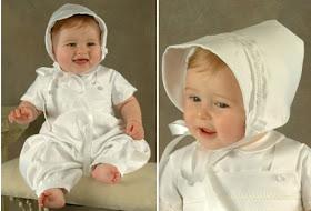 ropa de bautizo para niña de 6 meses