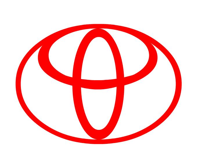 dicas logo toyota logo