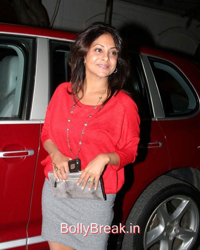 Shefali Shah, Hot HD Pics of Shilpa Shetty Shamita Shetty From 'Dil Dhadakne Do' Trailer Launch at Anil Kapoor Residence