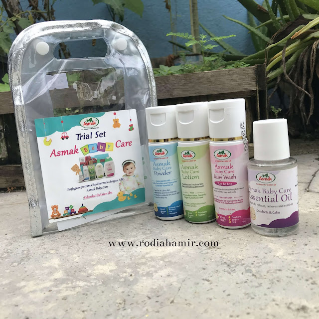 Asmak Baby Care Set
