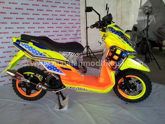 Modifikasi Yamaha X-ride TTX Thailook - Majalah Modifikasi