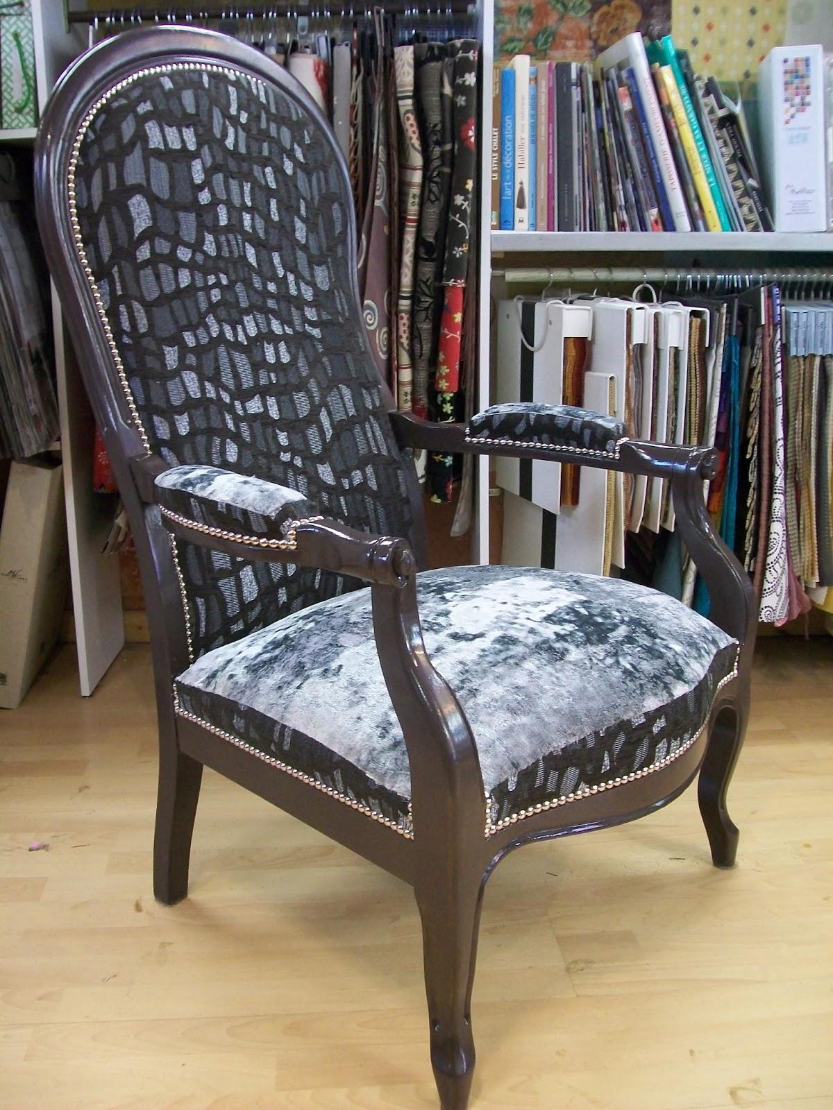 L 39 fauteuil voltaire deux tons - Chaise greenwich treca interiors paris ...