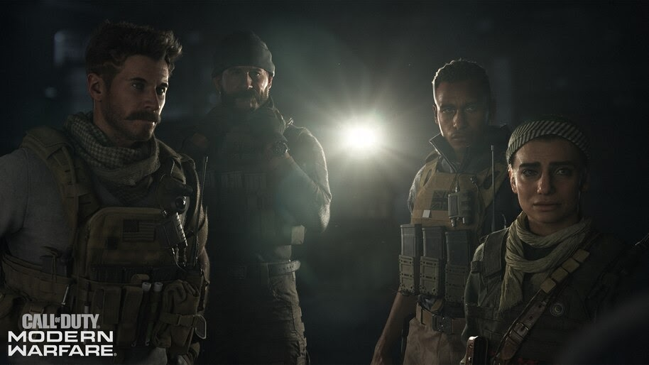 Call Of Duty Modern Warfare Characters 4k Wallpaper 5987
