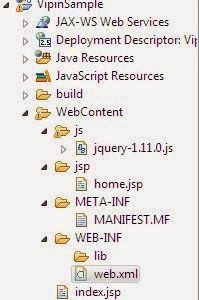 web application file structure
