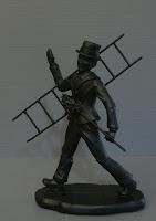 statuina spazzacamino soprammobile fatto a mano personalizzato orme magiche
