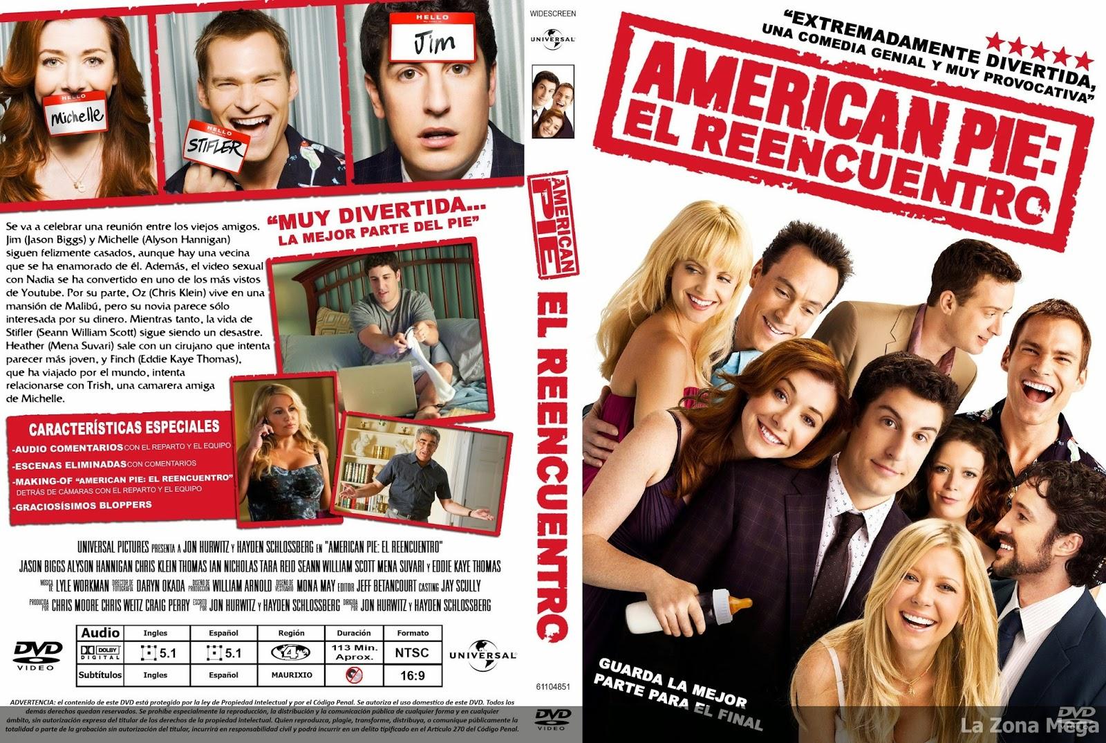 La Zona Mega American Pie El Reencuentro Dvdrip Español Latino