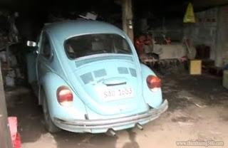 Chiếc Volkswagen Beetle cũ kĩ của Tổng thống Jose Mujica