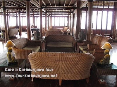 restouran nirwana resort karimunjawa