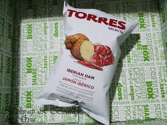 Patatas fritas con jamon Torres Degustabox Abril ´18 - Especial Aniversario