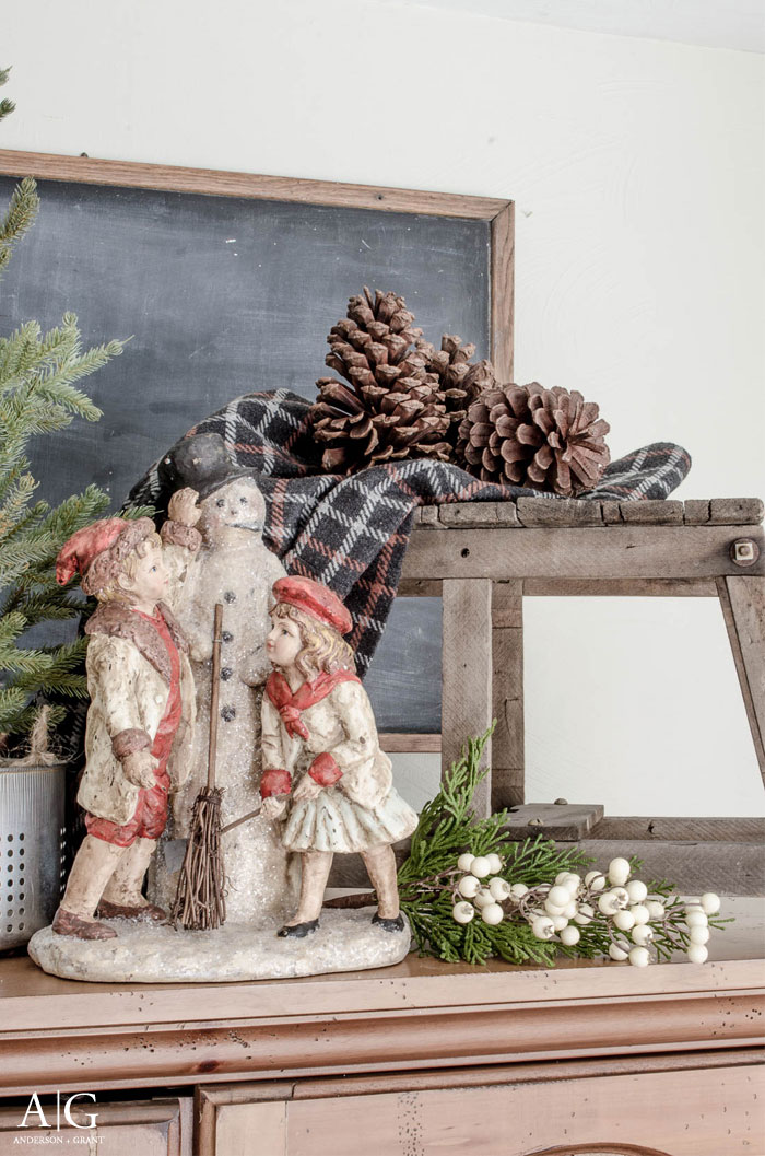 Winter display from anderson + grant