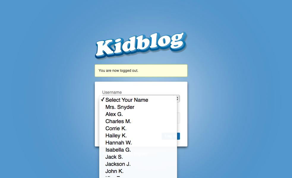 Fourth Grade Flipper: Kidblog...A.MA.ZING!