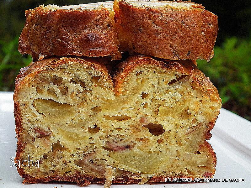 Cake Moelleux Aux Olives Et Lard