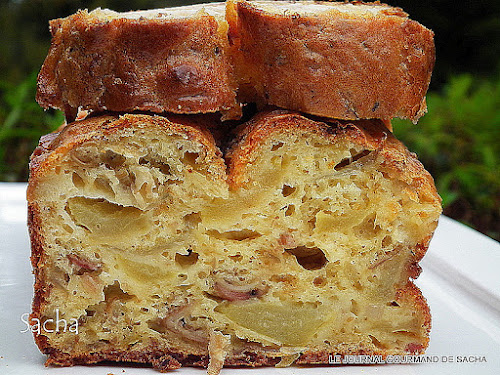 Cake Moelleux Pommes Thermomix