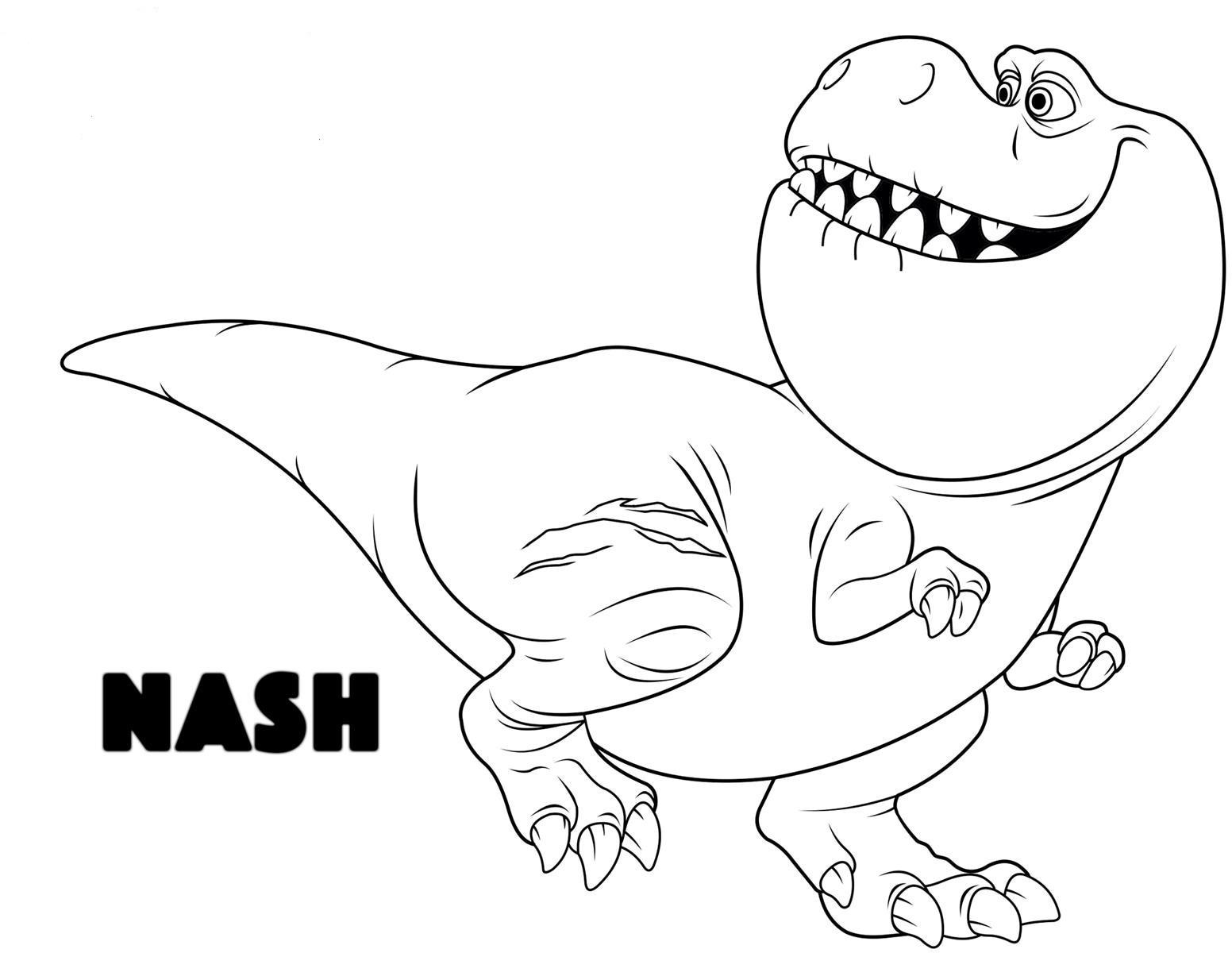 Dibujos De Dinosaurios: Mi Colección De Dibujos: Un Gran Dinosaurio